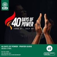 40 Days of Power - Prayer Guide