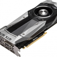 NVIDIA - GeForce GTX 1070 Founders Edition 8GB GDDR5 PCI Express 3.0 Graphics Card - Black